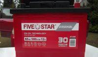 Akumulator samochoowy Five Star