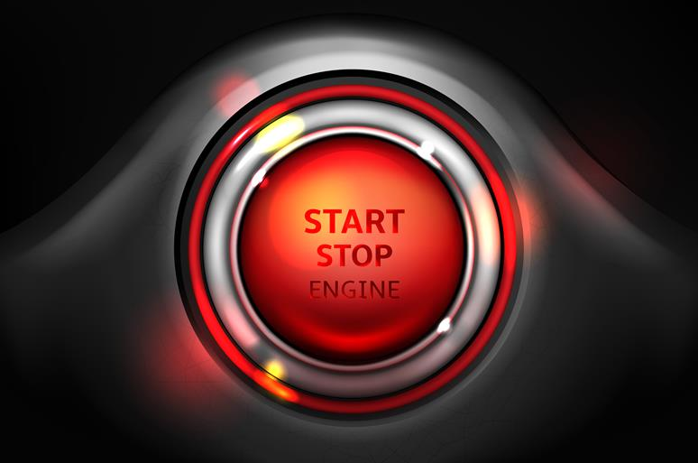 start stop engine akumulator